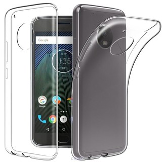 TPU Clear Transparent Mobile Cell Case Back Cover For Motorola Moto G5 Plus