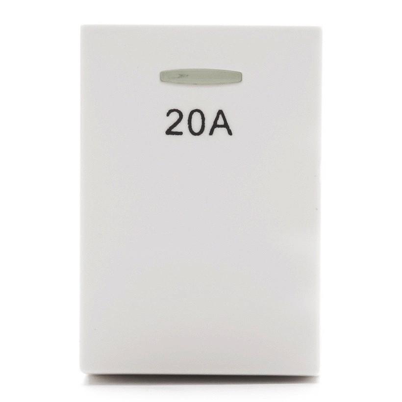 hạt Công tắc đơn 2 cực, 1 chiều 20A (S module) Simon Series 51A H2021
