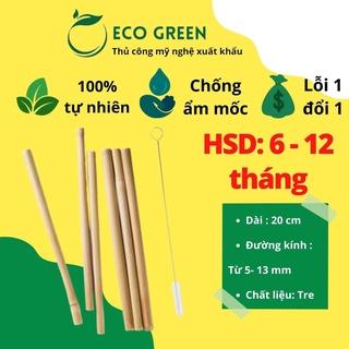 Ống hút tre ECO GREEN Giá sỉ, xuất khẩu (Bamboo Straws) thay thế ống hút nhựa Eco Green (Việt Nam) thumbnail
