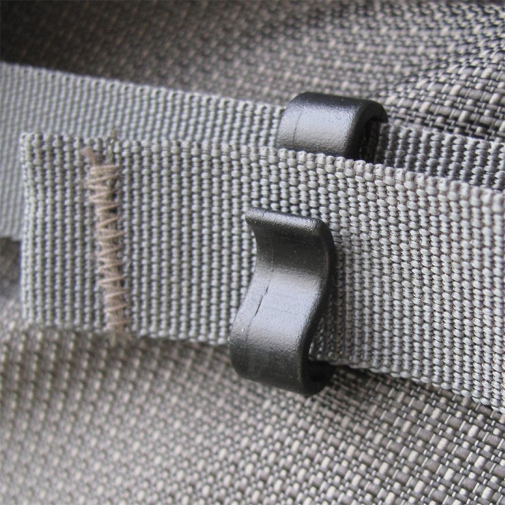 ริบบิ้นปุ่ม 8 รูปร่างกระเป๋าเป้สะพายหลังริบบิ้นจัดเก็บหัวเข็มขัดริบบิ้นหดหัวเข็มขัด 25 mm ริบบิ้น