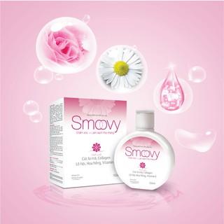 Dung dịch vệ sinh phụ nữ Smoovy giúp nuôi dưỡng và trẻ hoá da vùng kín 3