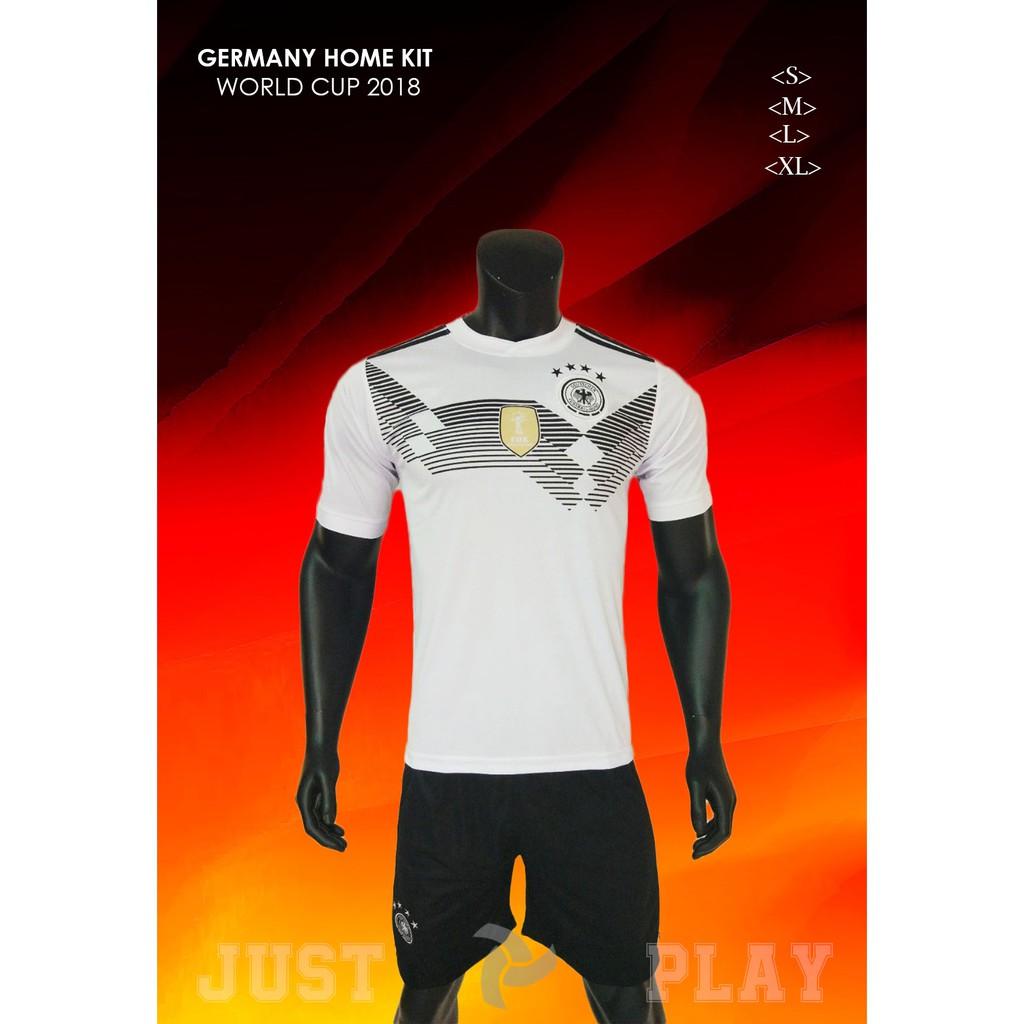 Quần áo đá banh đội tuyển Đức trắng sân nhà World Cup 2018