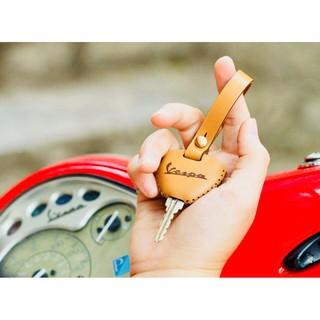 Bao da chìa khóa Vespa,Liberty,Zip da bò 100% thumbnail