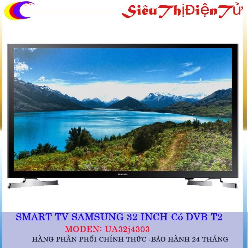 [SIÊU THỊ ĐIỆN TỬ]Tivi Samsung 32 Inch 32J4303 full HD có Internet và DVB T2 - 2927021 , 775643263 , 322_775643263 , 6990000 , SIEU-THI-DIEN-TUTivi-Samsung-32-Inch-32J4303-full-HD-co-Internet-va-DVB-T2-322_775643263 , shopee.vn , [SIÊU THỊ ĐIỆN TỬ]Tivi Samsung 32 Inch 32J4303 full HD có Internet và DVB T2