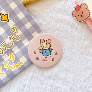 FREE SHIP Gương trang điểm cầm tay mini bỏ túi cô gái Nhật Bản 4
