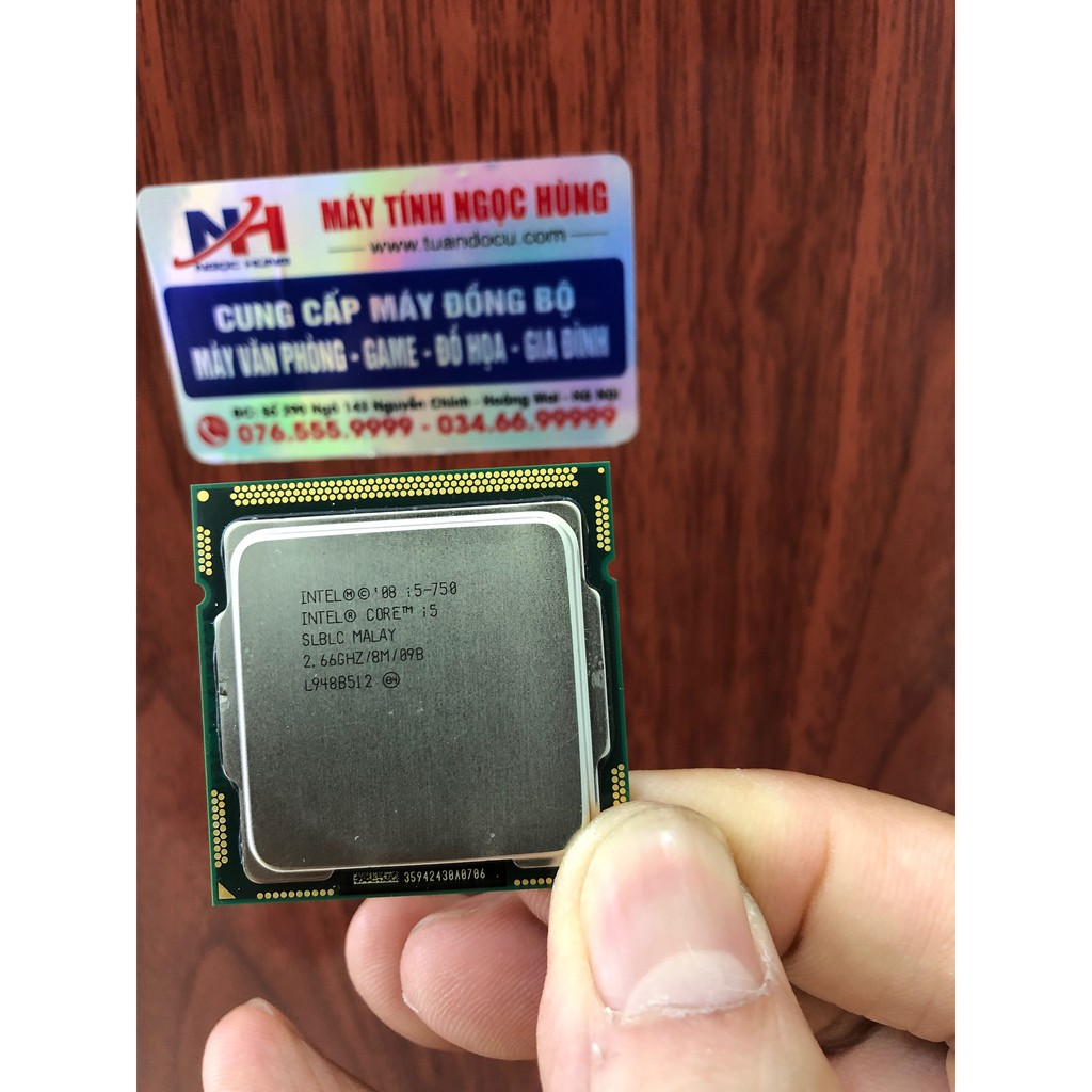 Bộ xử lý Intel® Core™ i5 – 750 8M bộ nhớ đệm, 2,66 GHz