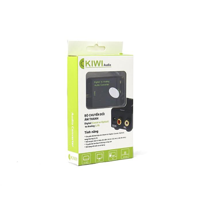 Bộ chuyển đổi âm thanh từ Optical sang Analog Kiwi KA-01