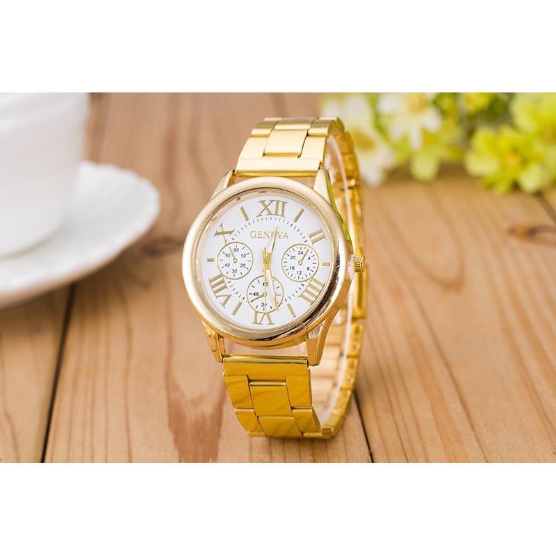 Đồng hồ Dotime nam nữ thời trang Geneva cao cấp ZO98