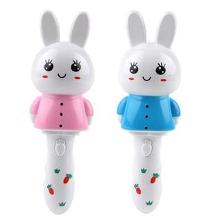 Cute Rabbit Sticks Toy with Flashing & Music Handheld Glow Music Stick