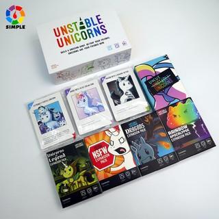 Bộ trò chơi Kỳ Lân Bất Định Boardgame Unstable unicorns thumbnail