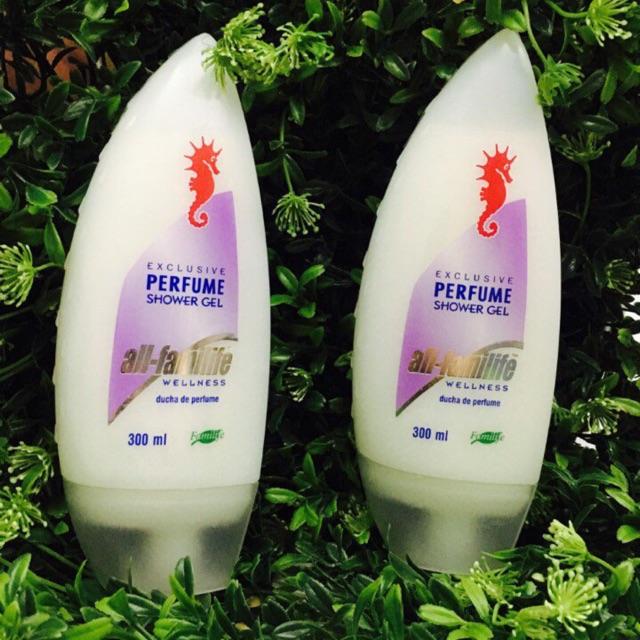 Sữa tắm cá ngựa Perfume 300ml (Đức)