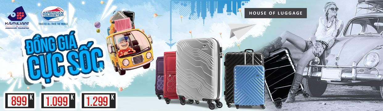 Cách Mạng Mua Sắm - Samsonite, Kamiliant, American Tourister - Off up to 70%
