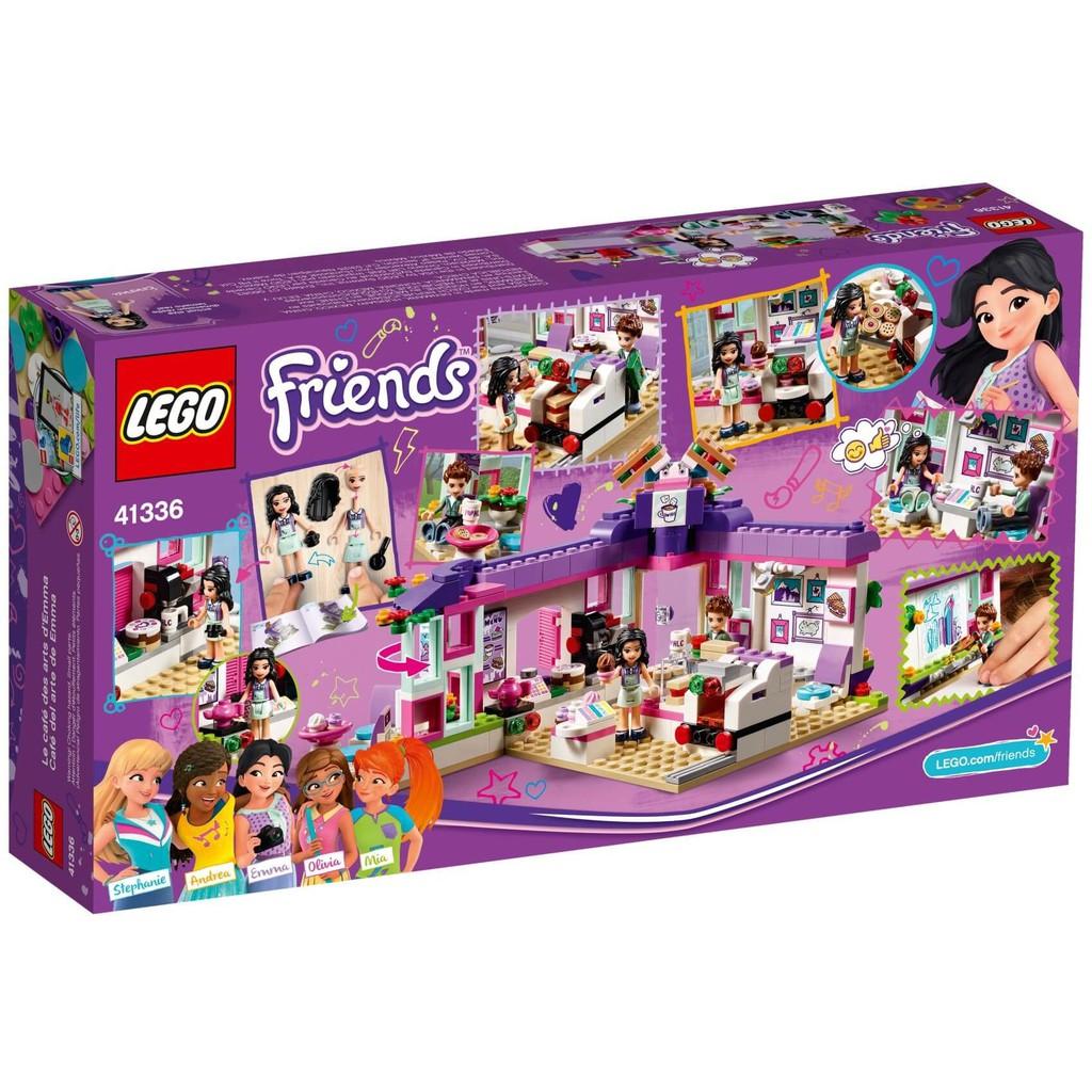 Lego Friends – Tiệm cà phê nghệ thuật của Emma 41336 (378 chi tiết)