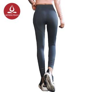 [Mã FASHIONCB264 giảm 10K đơn bất kỳ] Quần legging MOVING PEACH tập yoga thoải mái nhanh khô cho nữ