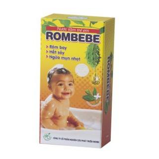 Rombebe – Rôm bay – Hết sảy – Ngừa mụn nhọt
