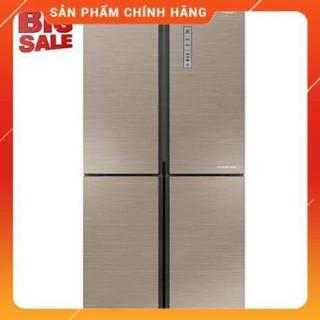 [ FREE SHIP KHU VỰC HÀ NỘI ] Tủ lạnh Aqua Inverter 456 Lít AQR-IG525AM(GG)
