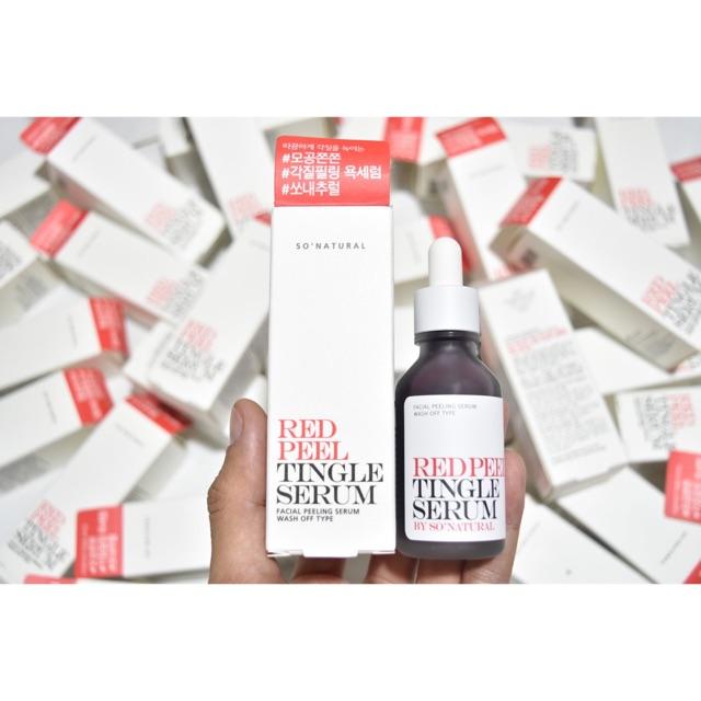 Red Peel Tingle Serum của Hàn Quốc