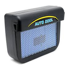 Quạt thông gió ô tô năng lượng mặt trời Auto Cool (Đen)