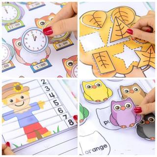 [Học liệu Tiếng Anh] Fall activity – Dành cho bé 2-6 tuổi
