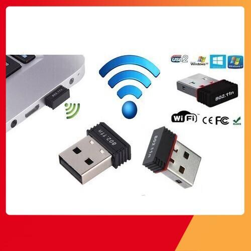 [Giá Phá Đảo] Thu wifi 802.11 không Anten chính hãng Giá chỉ 55.000₫