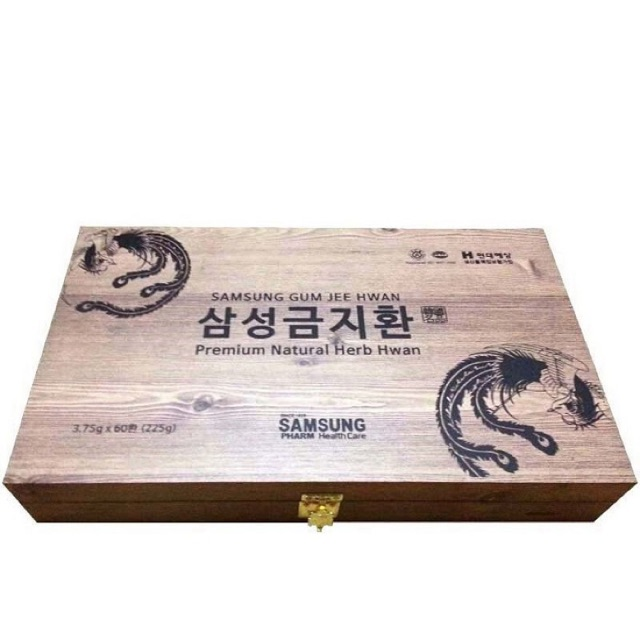 An cung ngưu hoàng Samsung (Hộp gỗ 60 viên)