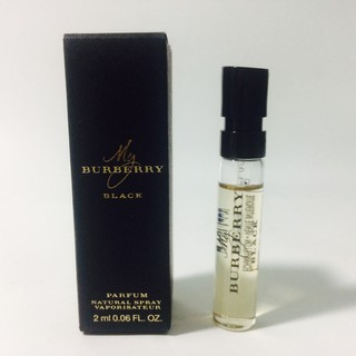 Nước hoa Burberry My Burberry Black for women_Eau de parfum 2ml thumbnail