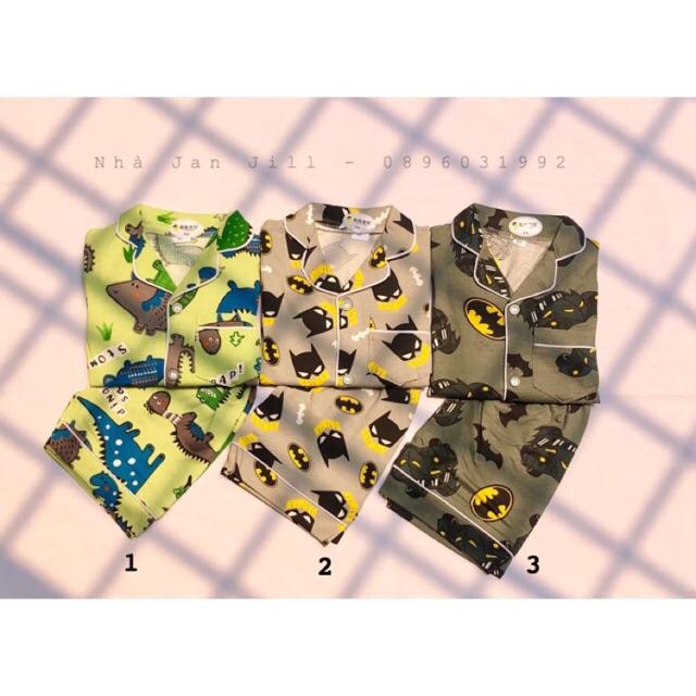 [Ảnh thật] Bộ Pijama chất cotton cực đẹp cho bé trai 👶🏻