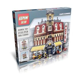 Lego 10182 Creator Expert City Street View Cafe Corner Model Hotel Lepin 15002 MÔ HÌNH QUÁN CÀ PHÊ KHÁCH SẠN Quà cho Bạn