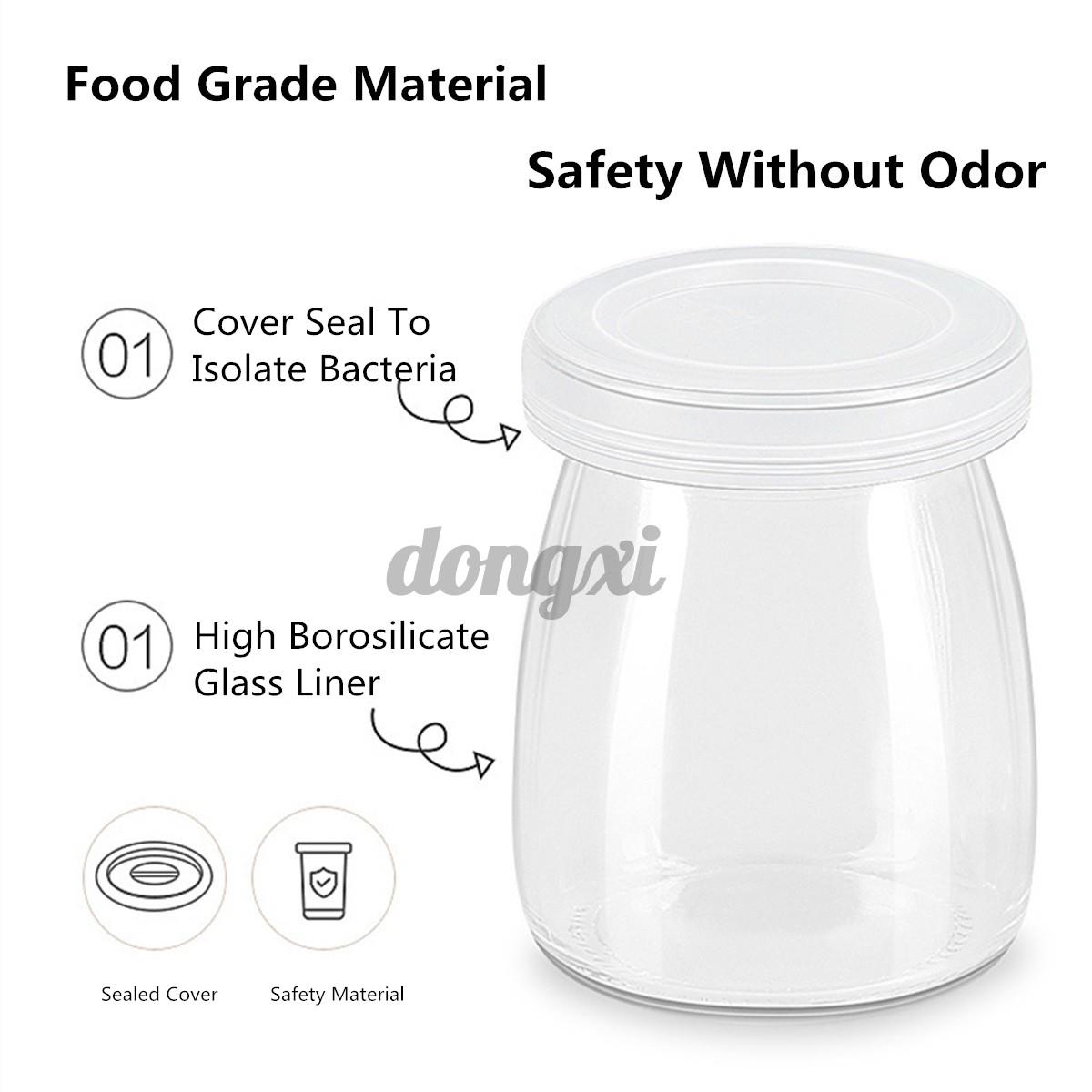 Máy Làm Sữa Chua Tự Động 1.5l Với 7 Lọ Thủy Tinh