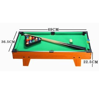 Đồ chơi bàn Bi-A bằng gỗ TTP-69 kích thước 70x40cm phù hợp với mọi lứa tuổi giúp giải trí sau giờ học và làm căng thẳng thumbnail