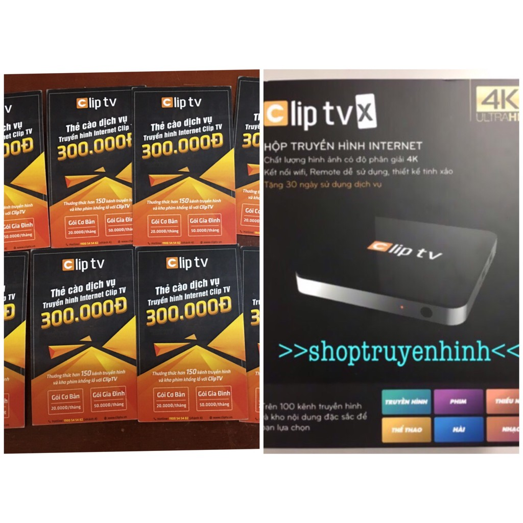 Thẻ clip tv
