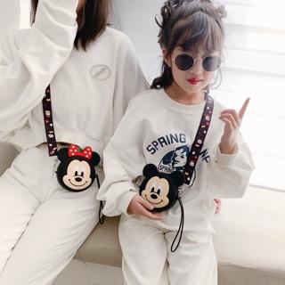 Túi Mickey & Minnie cho bé- ẢNH THẬT