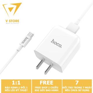 BỘ SẠC NHANH C49 HOCO 1 CỔNG USB 2A CHO ANDROID SAMSUNG XIAOMI OPPO - MÀU TRẮNG [HOCO ĐÀ NẴNG]