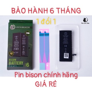 Pin iPhone BISON Giá Rẻ Chính Hãng - Bảo Hành 06 Tháng thumbnail