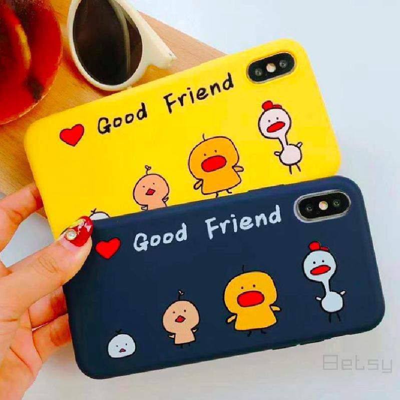 Cod Oppo การ์ตูนรักไก่ Tpu ครอบคลุม Oppo  R9s  R11  R11s  R9  R11 485 Plus