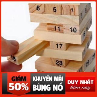 KBBHN-Trò chơi rút gỗ 54 thanh + Tặng dụng cụ lấy ráy tai có đèn