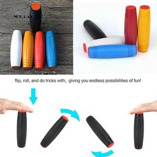 ღNK_Kids Adult Rollover Roller Flip Fidget Stick Relieve Stress Focus Fun Desk Toy