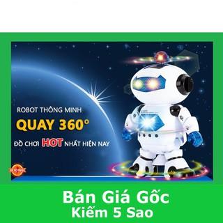 [HCM] Robot thông minh xoay 360 độ cảm biến né vật cản không sợ ngã có nhạc vui nhộn cho bé chơi tại nhà PN60220