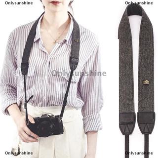 Onlysunshine| Portable Shoulder Camera Strap For Camera Quick Rapid Camera Neck Strap