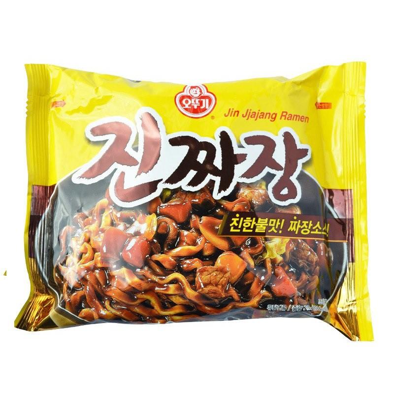5 gói Mì Sốt Tương Đen 135g - Jin Jjajang Ramen