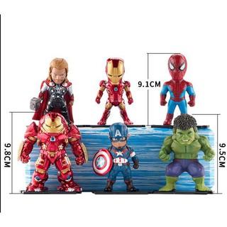 Bộ siêu anh hùng đẹp lung linh dành cho các bé