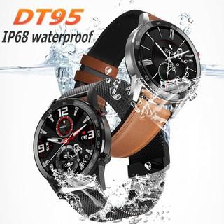 Utelite DT95 Bluetooth Smart Watch Waterproof IP68 Heart Rate Notification Message