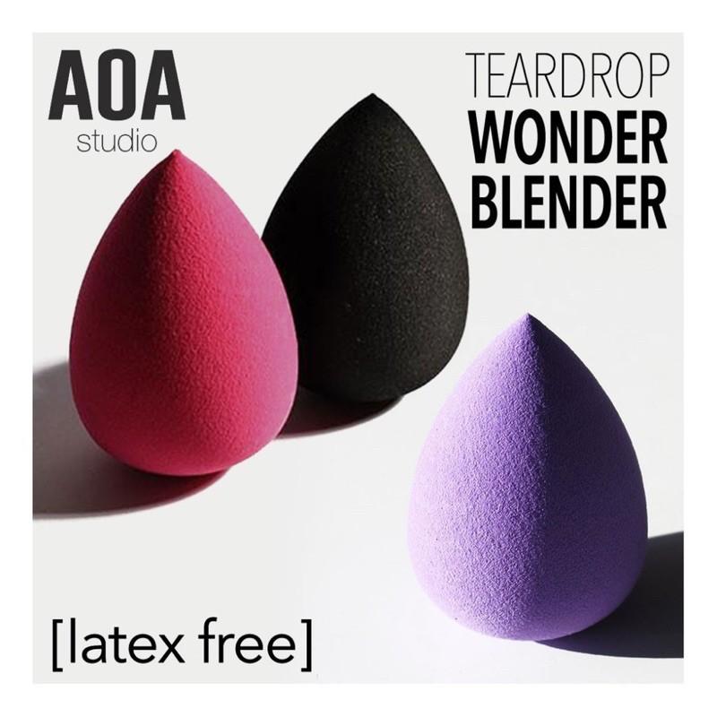 [SẴN, BILL US] Mút Trang Điểm Giọt Nước AOA Studio Wonder Blender Siêu Mềm nhiều dòng [beNineteen]