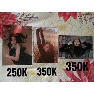 Ảnh postcard concert BLACKPINK và SOLO Jennie special