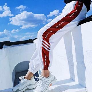 Quần thể thao ống rộng thiết kế mỏng cá tính thời trang