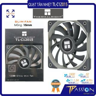 Quạt tản nhiệt Fan case 12cm Thermalright TL-C12015 - Slim fan mỏng 15mm, cao cấp, quay êm, gió mạnh thumbnail
