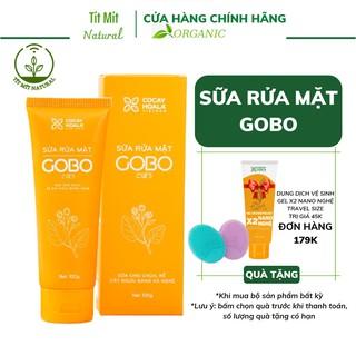 Sữa rửa mặt rễ cây ngưu bàng Gobo làm sạch sâu, ngừa mụn, mờ vết thâm Cỏ Cây Hoa Lá size du lịch 10g thumbnail