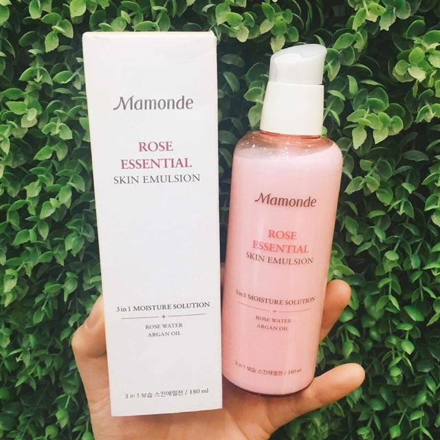 Mamonde 3 in 1 Rose Essential Skin Emulsion