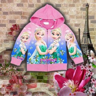 Áo khoác bé gái nữ hoàng băng giá
