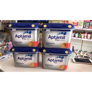 Sữa aptamil bạc lùn Anh số 3 800g